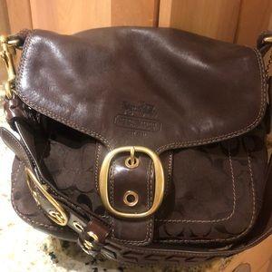 Coach saddle purse